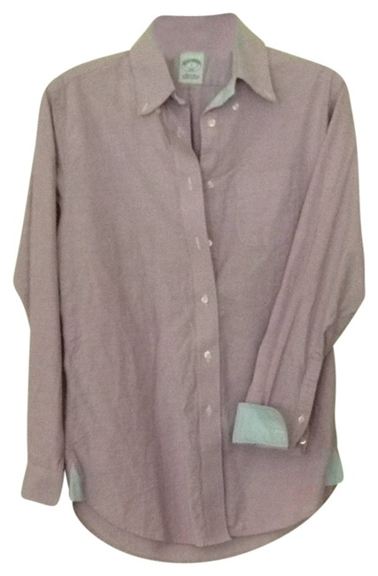 Brooks Brothers Button Down Shirt Lavendar