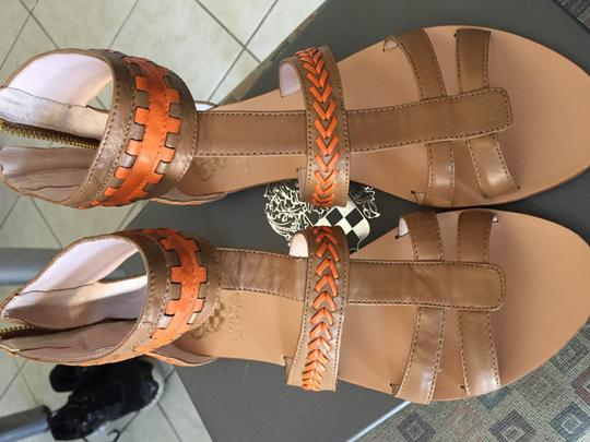 Vince Camuto Tan & orange Sandals