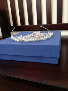 Bel Aire Bridal Bridal Tiara With Clear Crystals