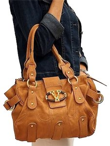 Valentino Garavani Catch Satchel in Brown