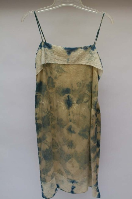 Other short dress Shibori Blue on Tradesy