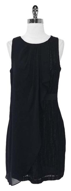 Preload https://img-static.tradesy.com/item/3801319/cynthia-steffe-black-embellished-sheath-with-draped-sheer-overlay-mid-length-cocktail-dress-size-8-m-0-0-650-650.jpg