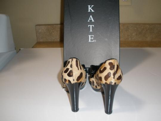 Kate Brown Leopard Pumps