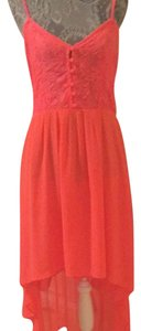Hot coral Maxi Dress by Millau