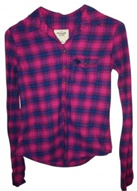 Preload https://img-static.tradesy.com/item/38015/abercrombie-and-fitch-navy-pink-green-plaid-button-down-top-size-0-xs-0-0-650-650.jpg