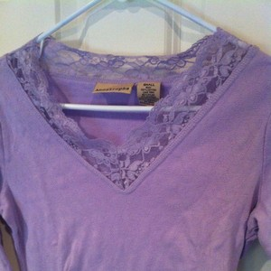 Apostrophe T Shirt Purple