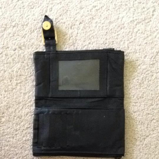 Other Black Leather Envelope Wallet