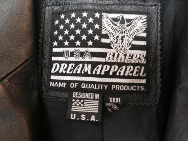 USA Bikers Dream Apparel Pea Coat