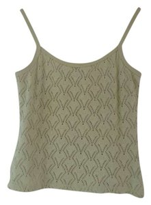 Express Pointelle Top Green