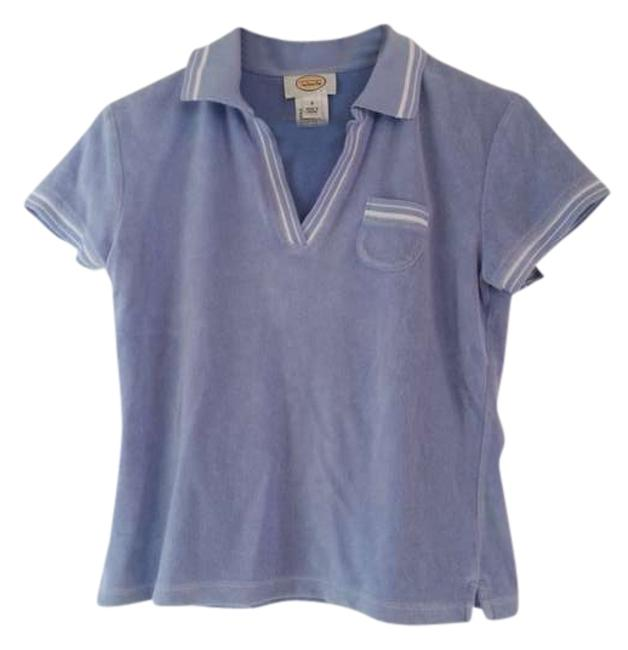 Preload https://item5.tradesy.com/images/talbots-periwinkle-velour-v-neck-polo-sweaterpullover-size-4-s-380259-0-0.jpg?width=400&height=650