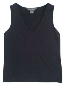 Banana Republic V-neck Basic Top Black