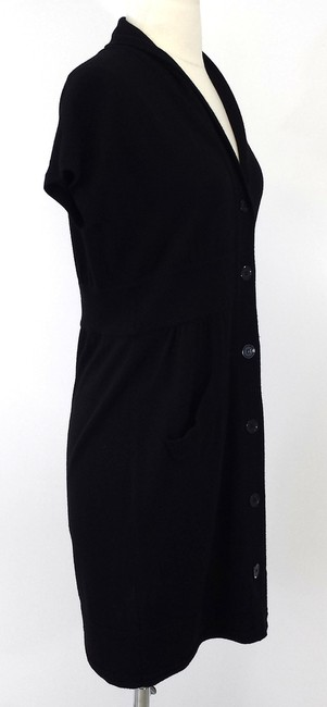 Iisli short dress Black Wool Button Down Sweater on Tradesy