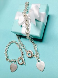 Tiffany & Co. Tiffany & Co. Heart Tag Toggle Necklace & Bracelet