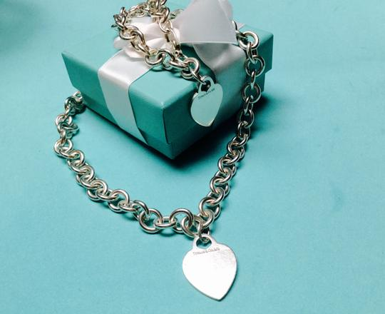 Tiffany & Co. Tiffany & Co. Heart Charm Necklace and Bracelet