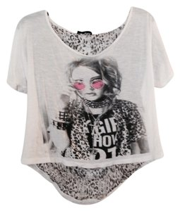 Other T Shirt White and Gray - item med img
