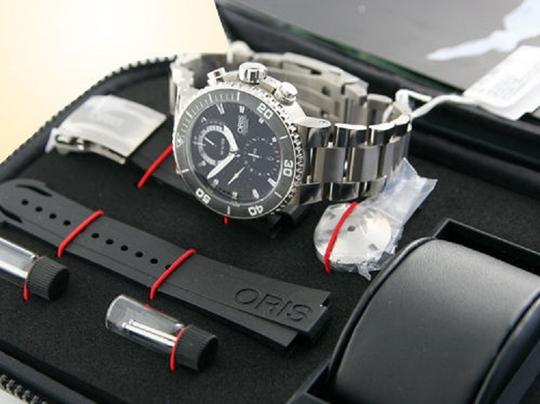 Oris ORIS CARLOS COSTE CHRONOGRAPH LTD. ED. CENOTE SERIES NO. 67476557184 SET