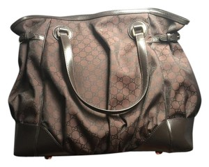 Gucci Satchel in Full Moon Dark Brown (Large)