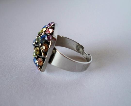 Other Adjustable Pastel Cocktail Ring