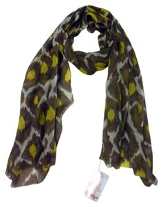 Bindya New York Silk Wool Digital Printed Scarf