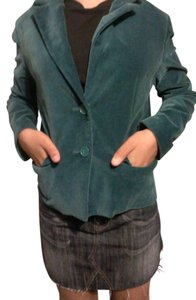 cinema clu Formal Comfortable Velvet aquamarine Jacket
