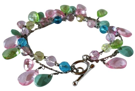 Other Pastel Dangling Beaded Bracelet