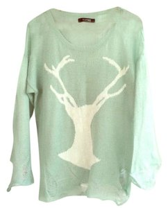 Romwe Distressed Wildfox Distressed Sweater