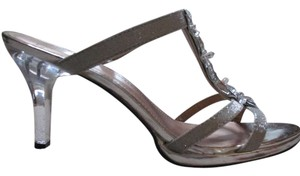 Mootsies Tootsies Silver/Clear Sandals