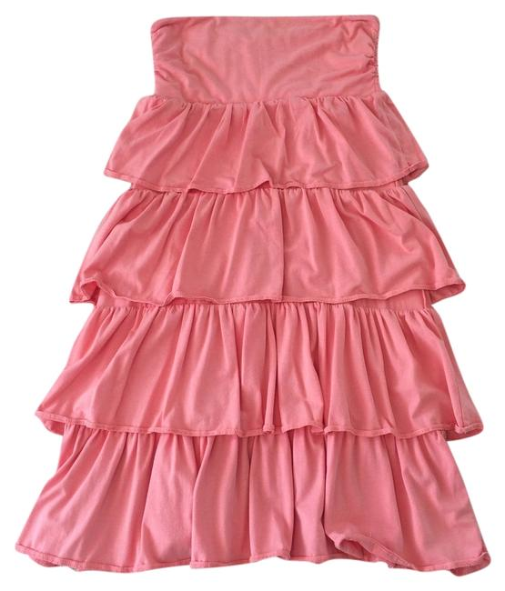 Preload https://item4.tradesy.com/images/jcrew-light-coral-cotton-strapless-by-mid-length-short-casual-dress-size-4-s-3806458-0-0.jpg?width=400&height=650