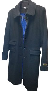 DKNY Lambswool Cashmere Coat