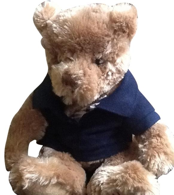 Item - Brown with Blue Polo Shirt Bear