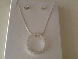 Diamond Like Jewelry Set
