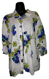 White Stag a button up blouse