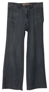 Gap Trouser/Wide Leg Jeans-Distressed