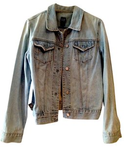 Gap Light Wash Denim Womens Jean Jacket