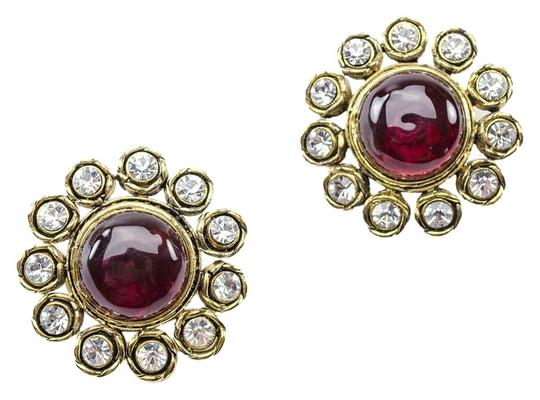 Chanel Chanel Vintage Gripoix Earrings