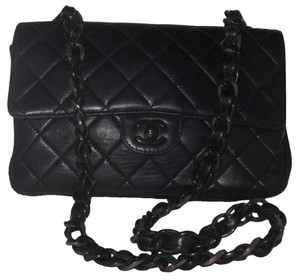 Chanel So Lambskin Quilted Shoulder Bag