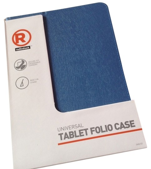 "Radiio Shack Blue Tablet Case for 9"" to 10"" Tablets."