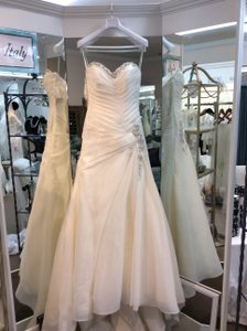Sophia Tolli Ginger Ivory 8 New Y 21446 Wedding Dress