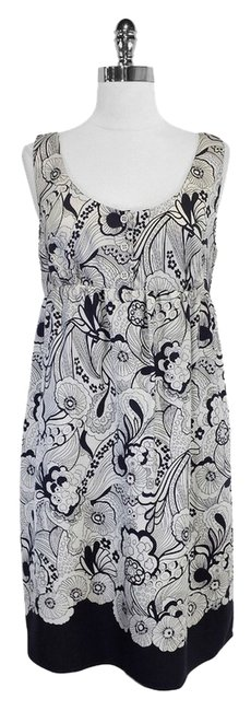Preload https://item1.tradesy.com/images/see-by-chloe-gray-and-black-print-silk-sleeveless-knee-length-short-casual-dress-size-8-m-3808300-0-0.jpg?width=400&height=650