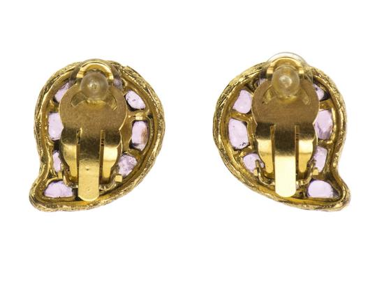 Chanel Chanel Vintage Gripoix Teardrop Earrings