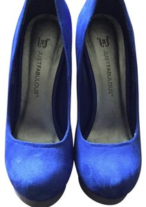 JustFab Cobalt Blue Pumps