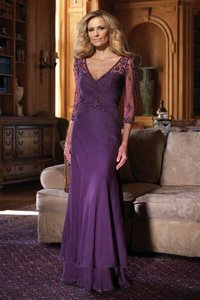 Mon Cheri Purple 210969 Dress