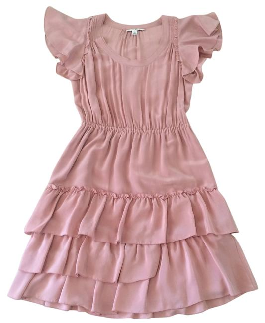 Banana Republic short dress Antique Pink Ruffles on Tradesy