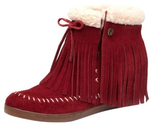 Koolaburra Suede red Boots