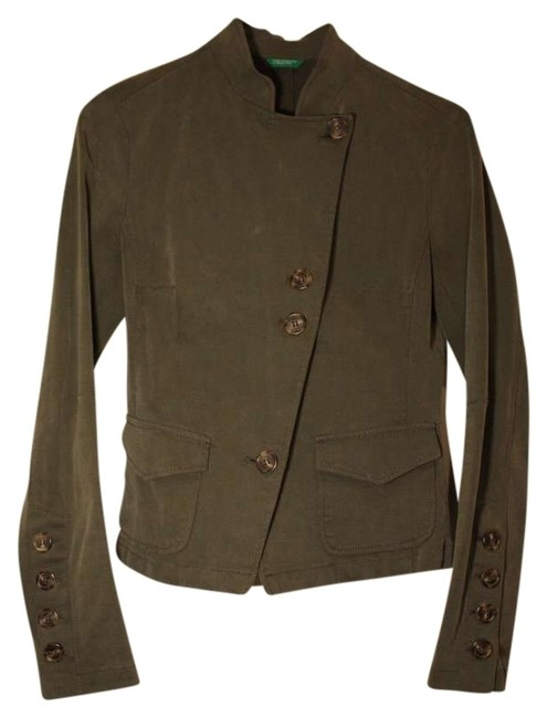 Preload https://item4.tradesy.com/images/united-colors-of-benetton-army-green-stretch-miltary-jacket-size-2-xs-380858-0-0.jpg?width=400&height=650