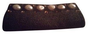 Caroline Dadlani Brown/Bronze Clutch