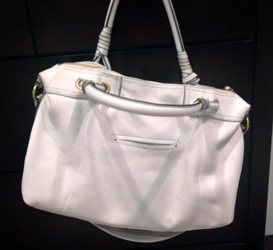 B. Makowsky Satchel in white