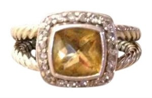 David Yurman David Yurman Petite Albion Ring in Citrine