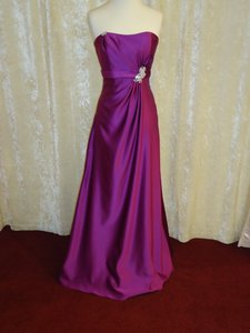 Passion Satin Formal Bridesmaid/Mob Dress Size 10 (M)