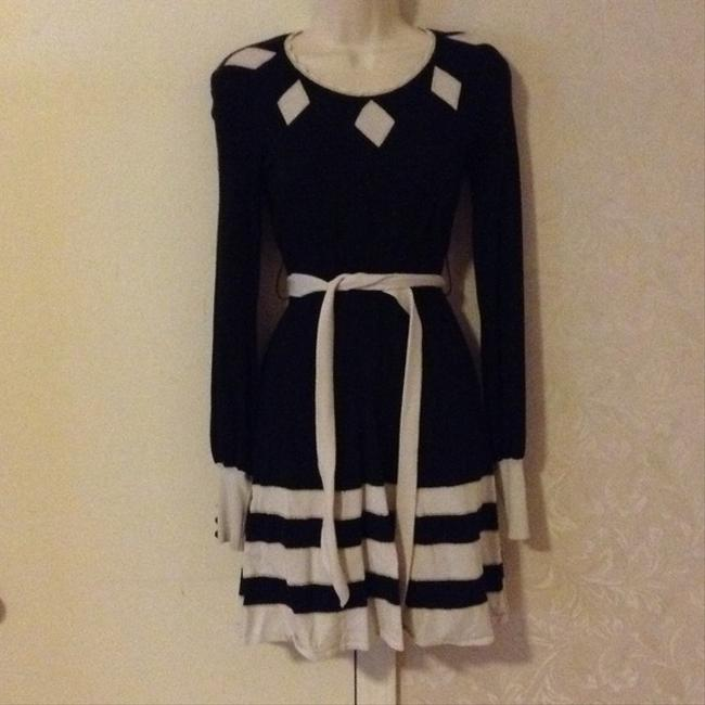 Alice Temperley for Target London Sweater Knit Monochrome Ascot Chanel Cc Dress